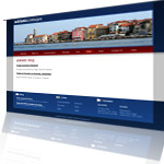 Adriatic Cottages Website Screenshot