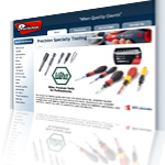 Precision Specialty Tooling Website Screenshot