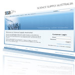 Science Supply Australia Website Screenshot