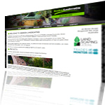 Semken Landscaping Website Screenshot